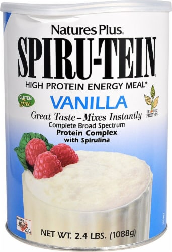 Nature's Plus  Spiru-Tein® High Protein Energy Meal   Vanilla Perspective: front