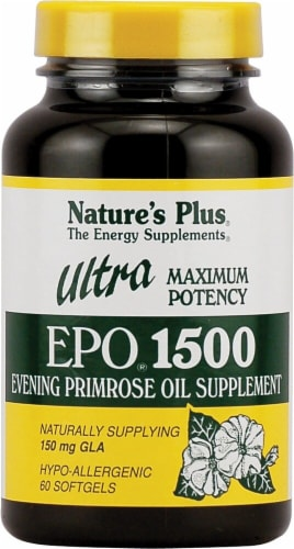 Nature's Plus Ultra EPO 1500 Softgels Perspective: front