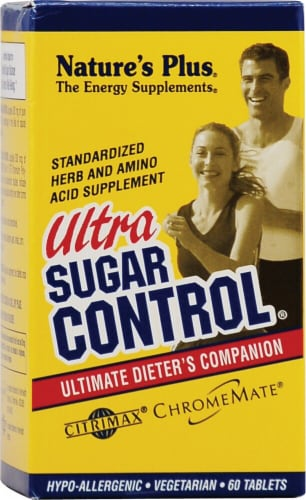 Nature's Plus  Ultra Sugar Control® Perspective: front