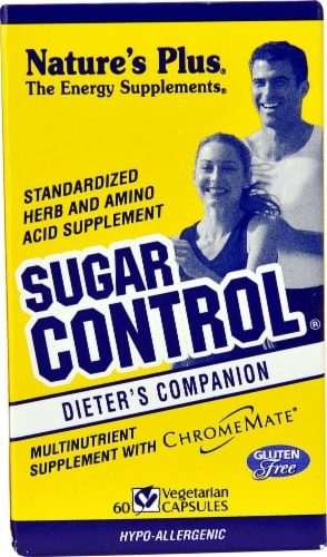 Nature's Plus  Sugar Control® Perspective: front