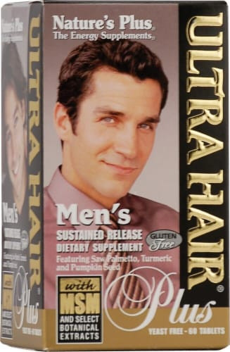 Nature's Plus  Men's Ultra Hair® Plus Perspective: front
