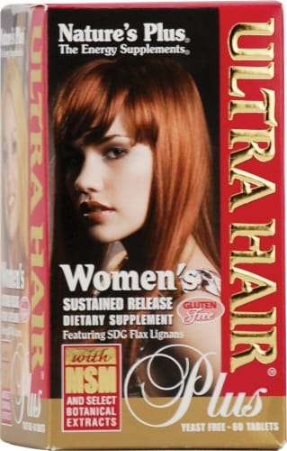 Nature's Plus  Ultra Hair® Plus for Women Perspective: front