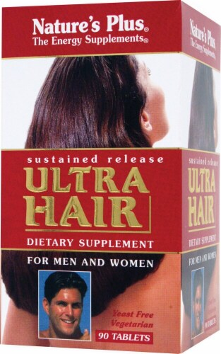Nature's Plus  Ultra Hair® For Men and Women Perspective: front