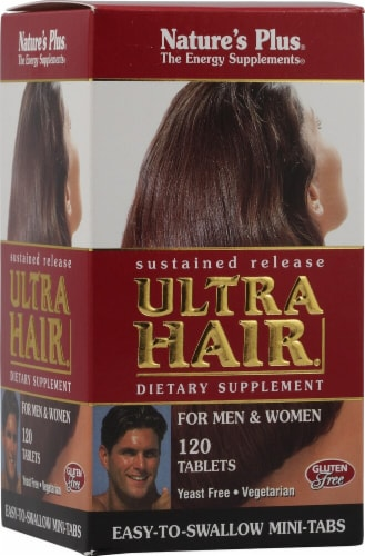 Nature's Plus  Ultra Hair® Sustained Release Perspective: front