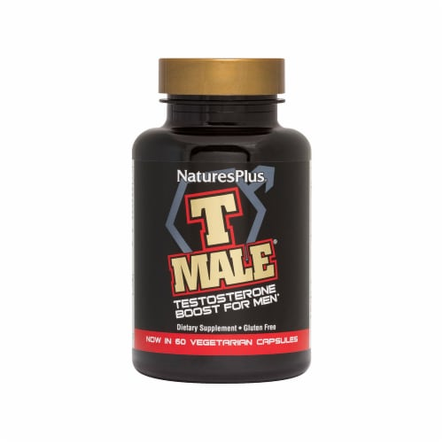 Nature's Plus T-Male Testosterone Boost 60 Count Perspective: front
