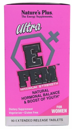 Nature's Plus  Ultra E Fem™ for Women Maximum Strength Perspective: front
