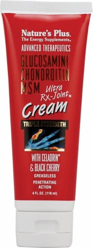 Nature's Plus  Triple Strength Ultra Rx-Joint® Cream with Celadrin® and Black Cherry Perspective: front
