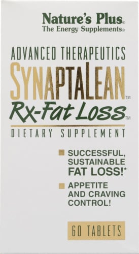 Nature's Plus  Advanced Therapeutics SynaptaLean™ Rx-Fat Loss™ Perspective: front