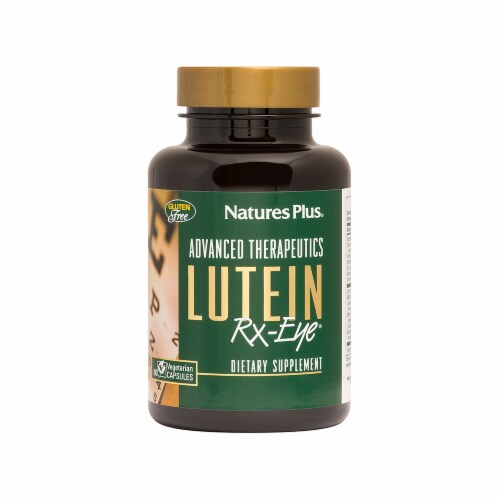 Nature's Plus Lutein Rx-Eye Dietary Supplement Perspective: front