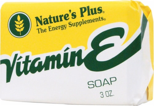 Nature's Plus Vitamin E Soap Perspective: front