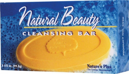 Nature's Plus Natural Beauty Cleansing Bar Perspective: front