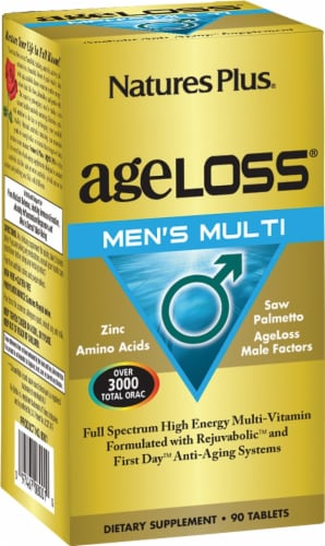 Nature's Plus Age Loss Men's Multivitamin Perspective: front