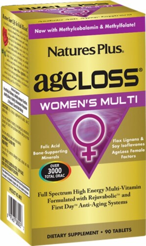 Nature's Plus Age Loss Women's Multivitamin Perspective: front