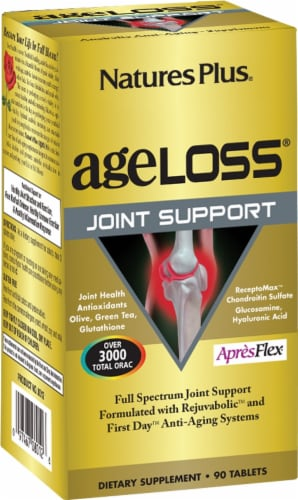 Nature's Plus Age Loss Joint Support Perspective: front