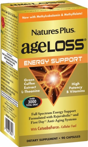 Nature's Plus Age Loss Energy Support Perspective: front