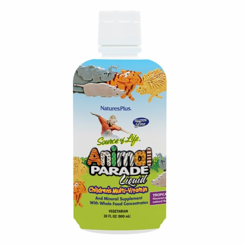 Nature's Plus Animal Parade Vitamins Perspective: front