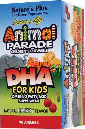 Nature's Plus Animal Parade DHA for Kids Perspective: front