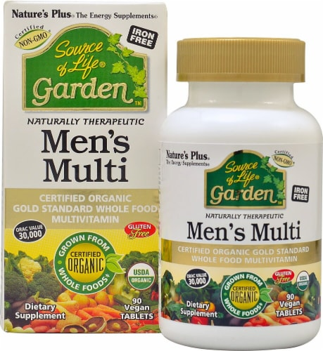 Nature's Plus  Source of Life® Garden™ Men's Multi Perspective: front