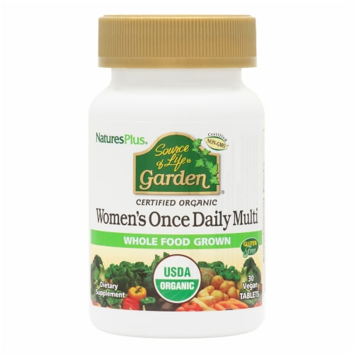 Natures Plus Source Of Life Garden Women's Daily Multivitamin Perspective: front