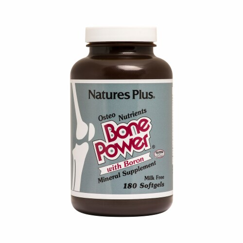 Nature's Plus Bone Power Perspective: front