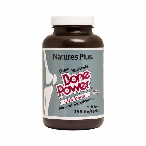 Natures Plus Bone Power Perspective: front