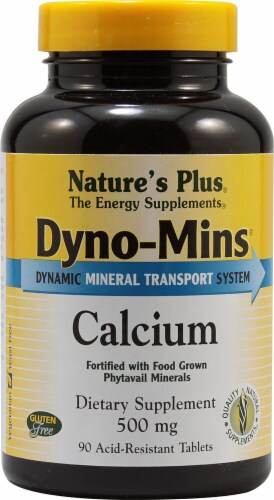 Nature's Plus  Dyno-Mins® Calcium Perspective: front