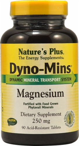 Nature's Plus  Dyno-Mins® Magnesium Perspective: front