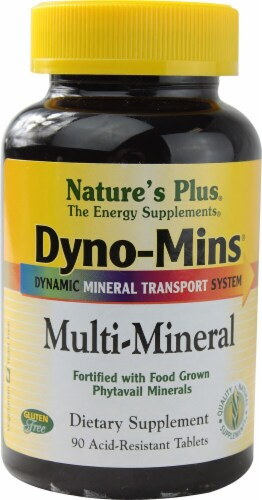 Nature's Plus  Dyno-Mins® Multi-Mineral Perspective: front
