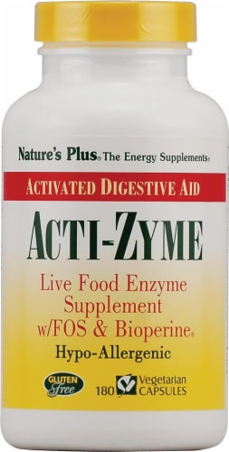 Nature's Plus  Acti-Zyme Perspective: front