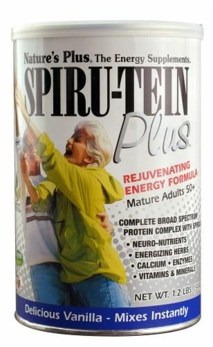 Nature's Plus  Spiru-Tein Plus®   Vanilla Perspective: front
