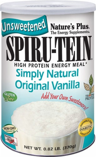Nature's Plus  Spiru-Tein® Shake Simply Natural   Original Vanilla Perspective: front