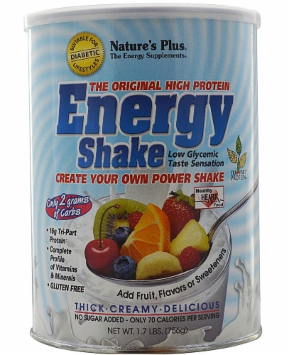 Nature's Plus  The Original High Protein Energy Shake Perspective: front