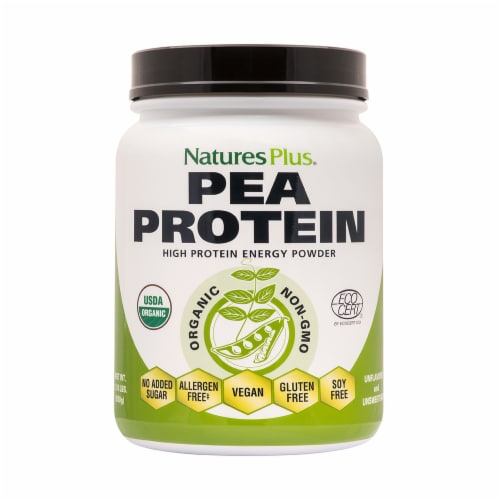 Nature's Plus Pea High Protein Energy Powder Perspective: front