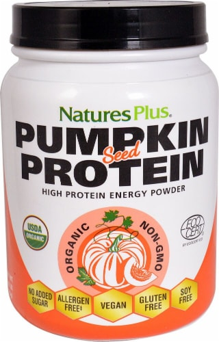 Nature's Plus  Organic Pumpkin Seed Protein Perspective: front