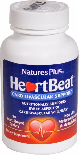 Nature's Plus  Heart Beat® Cardiovascular Support Perspective: front
