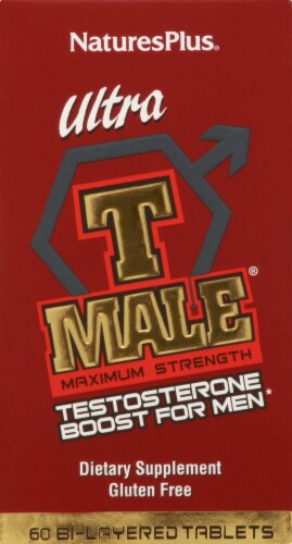 Nature's Plus Ultra T Male Testosterone Boost For Men 60 Count Perspective: front
