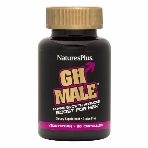 Nature's Plus GH Male Supplement Perspective: front