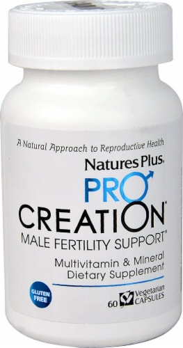 Nature's Plus  ProCreation Male Fertility Support® Perspective: front