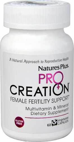 Nature's Plus  ProCreation Female Fertility Support® Perspective: front