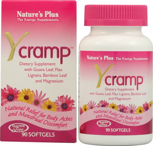 Nature's Plus Ycramp™ Softgels Perspective: front