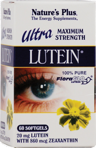 Nature's Plus Ultra Lutein 20mg Perspective: front