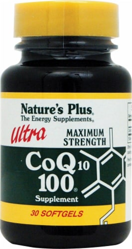 Nature's Plus  Ultra CoQ10 Perspective: front