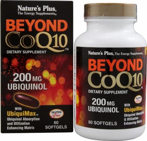 Nature's Plus  Beyond CoQ10™ Ubiquinol Perspective: front