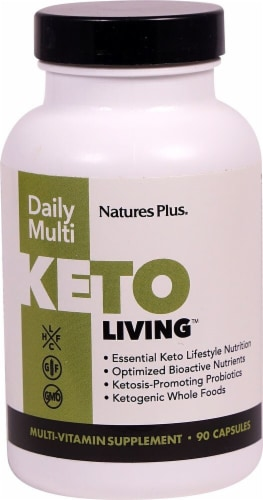 Natures Plus  Keto Living™ Daily Multi Perspective: front