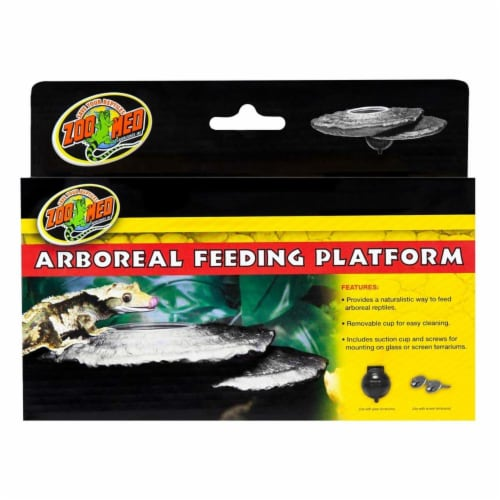 Zoo Med 97612621525 Arboreal Feeding Platform Perspective: front