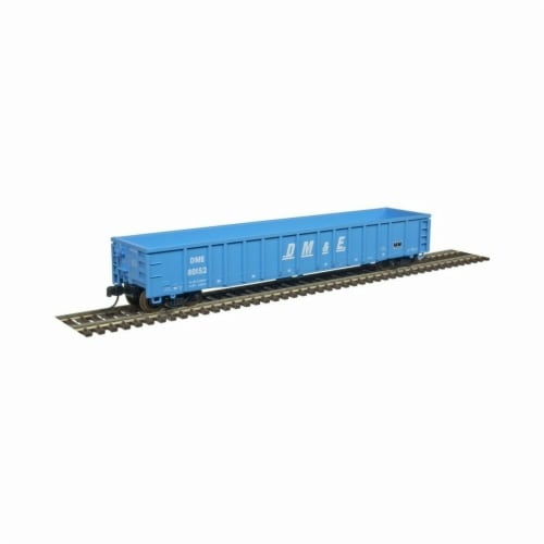 Atlas ATL50004264 N Scale Thrall Gondola Dakota Minnesota & Eastern No.80133 Model Train Perspective: front