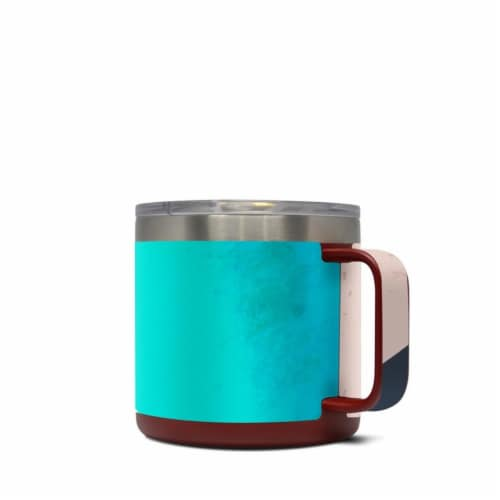 DecalGirl Y14-CURRENTS Yeti 14 oz Mug Skin - Currents Perspective: front