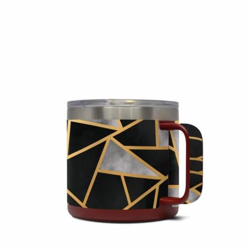 DecalGirl Y14-DECO Yeti 14 oz Mug Skin - Deco Perspective: front