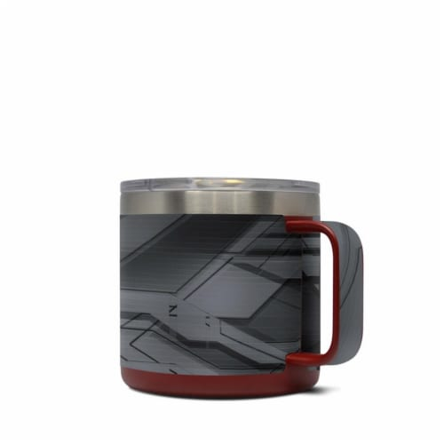 DecalGirl Y14-PLATED Yeti 14 oz Mug Skin - Plated Perspective: front