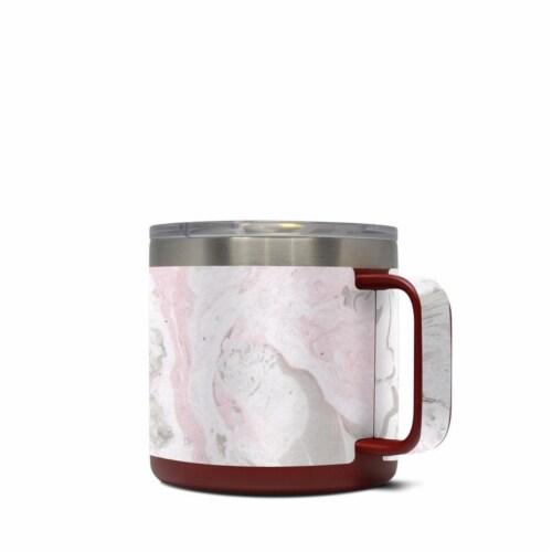 DecalGirl Y14-ROSA Yeti 14 oz Mug Skin - Rosa Marble Perspective: front